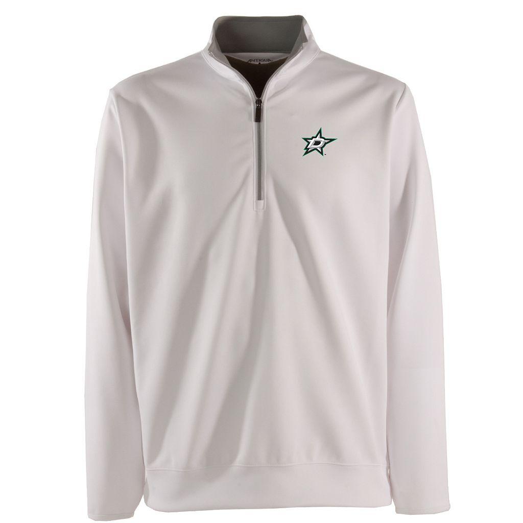 Men's Dallas Stars 1/4-Zip Leader Pullover