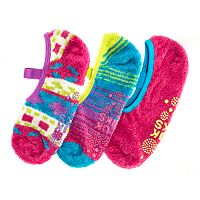 MUK LUKS 3 pkMary Jane Aloe Low-Cut Socks