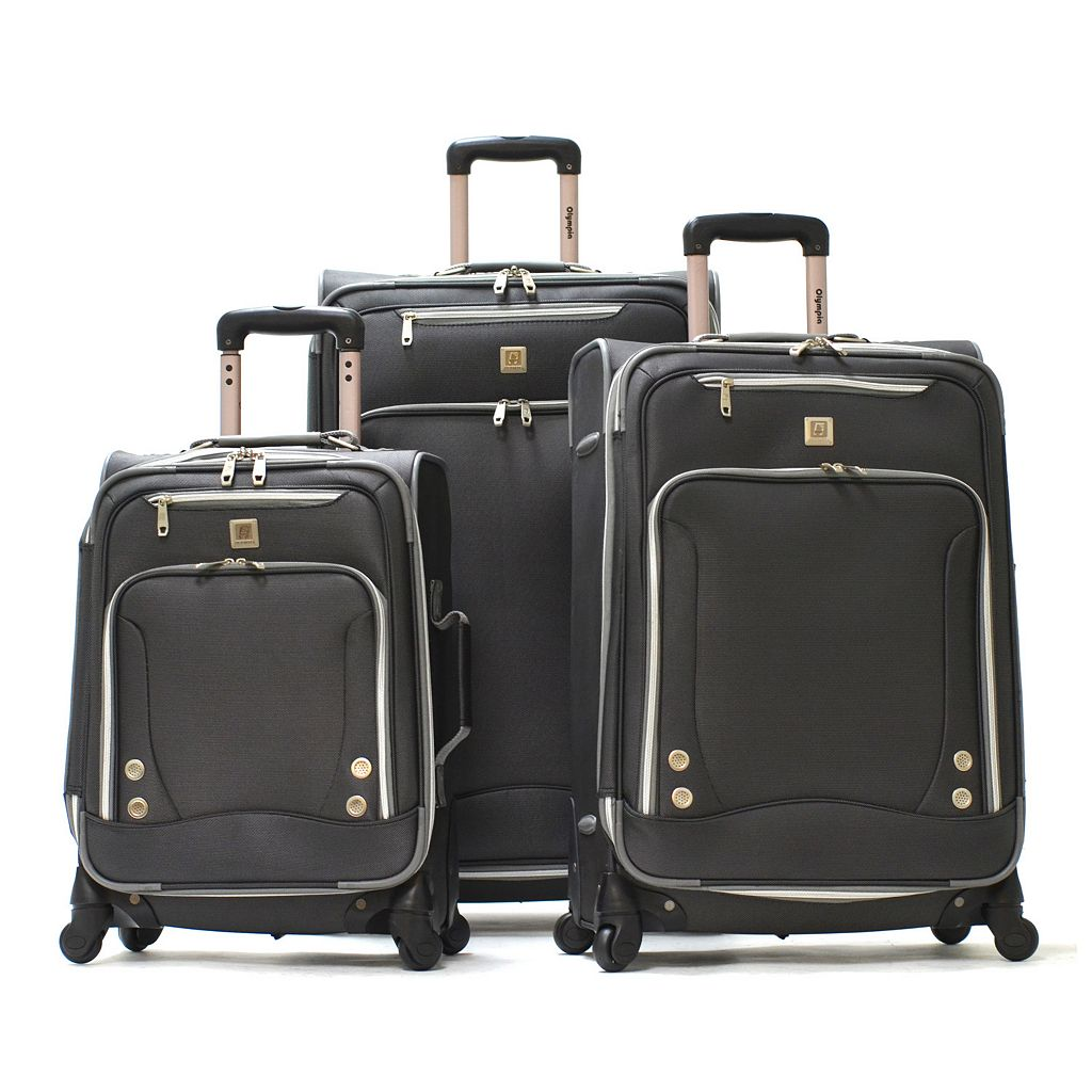 Olympia Skyhawks 3-Piece Spinner Luggage Set