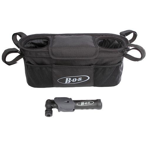 BOB Handlebar Console & Tire Pump Set
