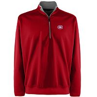 Men's Montreal Canadiens 1/4-Zip Leader Pullover