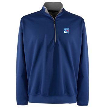 Men's New York Rangers 1/4-Zip Leader Pullover
