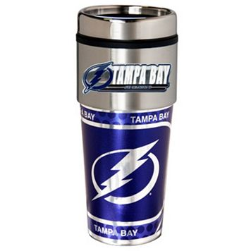 Tampa Bay Lightning Stainless Steel Metallic Travel Tumbler