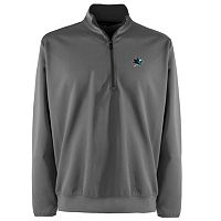 Men's San Jose Sharks 1/4-Zip Leader Pullover