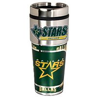 Dallas Stars Stainless Steel Metallic Travel Tumbler