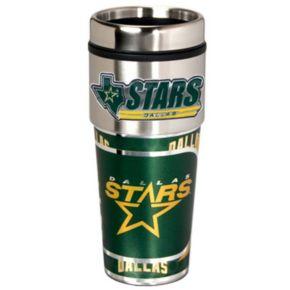 Dallas Stars Stainless Steel Metallic Travel Tumbler