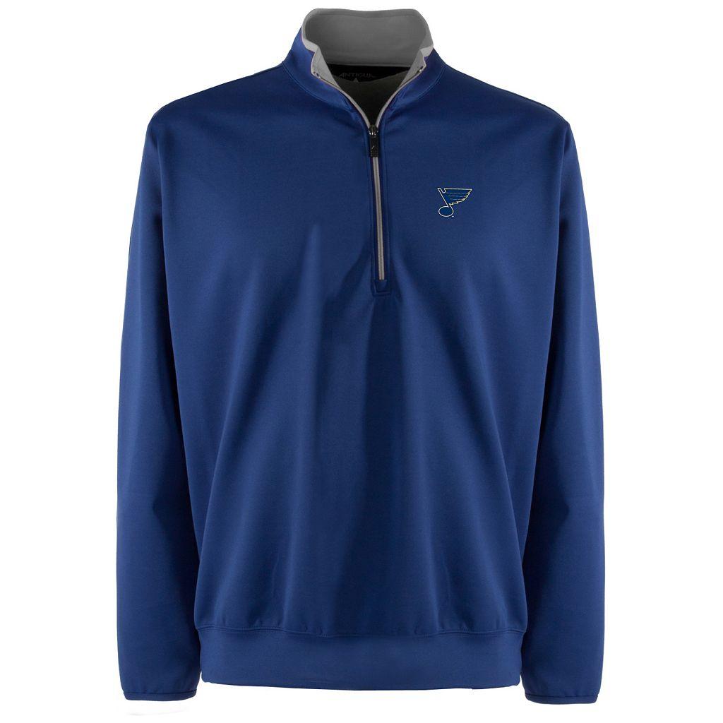 St. Louis Blues 1/4-Zip Leader Pullover - Men