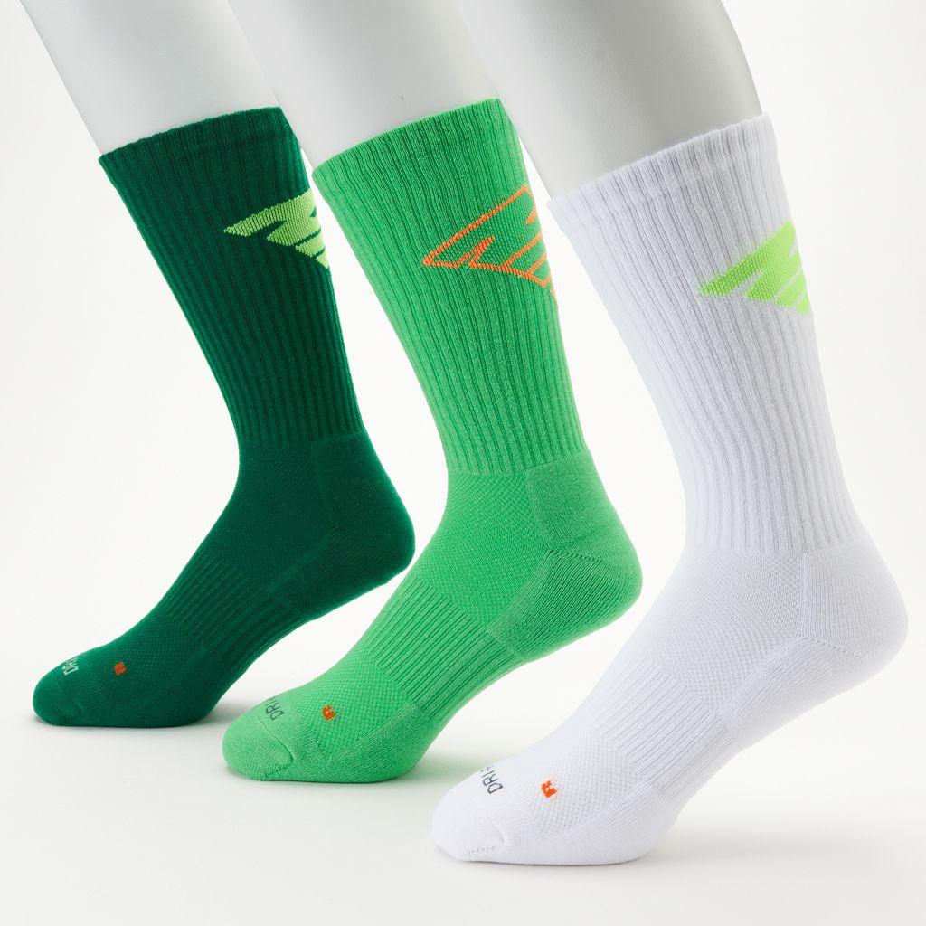 Men's Nike 3-pk. Dri-FIT Fly Crew Socks