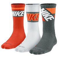 Men's Nike 3-pk. Dri-FIT Rise Crew Socks