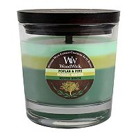 WoodWick 10 1/2-oz. Poplar & Pine, Nordic Winter & Silver Birch Soy Jar Candle