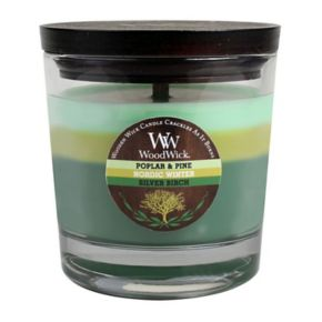 WoodWick 10 1/2-oz. Poplar and Pine, Nordic Winter and Silver Birch Soy Jar Candle