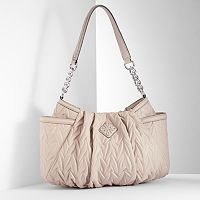 Simply Vera Vera Wang Alicia Chain Link Pleated Hobo