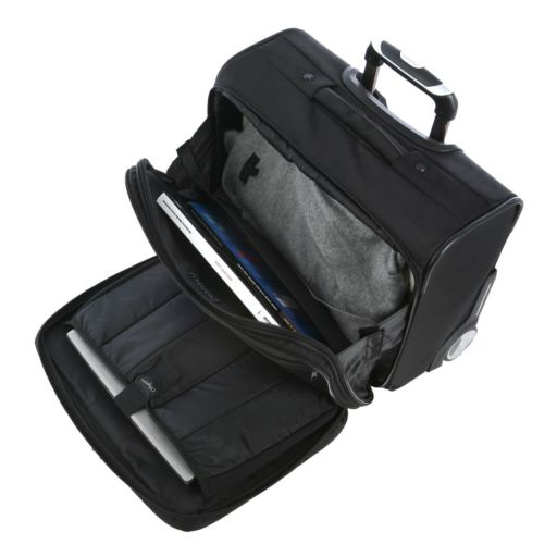 Olympia Deluxe 14-Inch Laptop Rolling Business Case