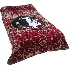College Covers Florida State Seminoles Raschel Throw Blanket