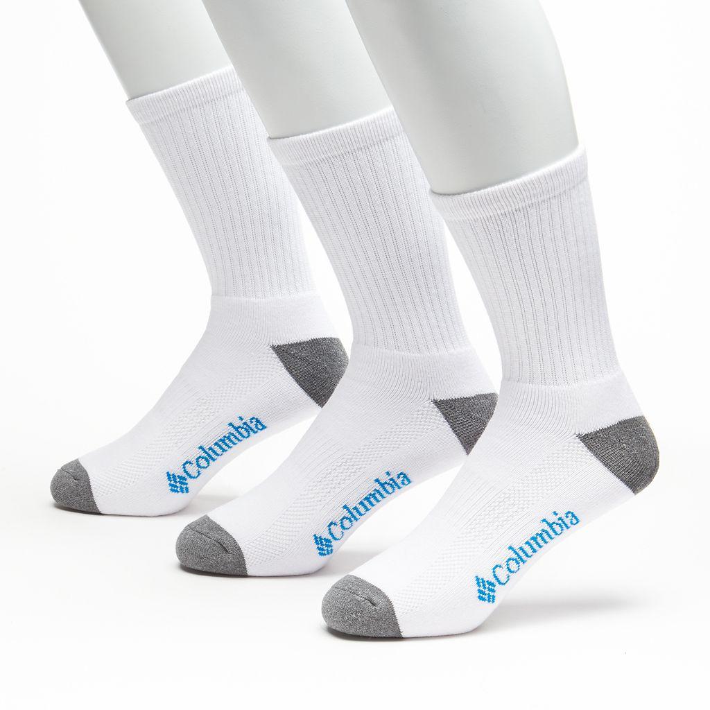 Columbia 3-pk. Athletic Crew Socks - Men