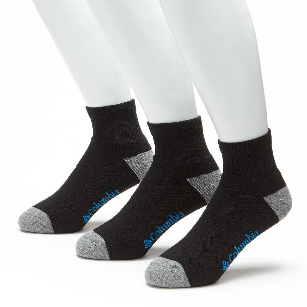 Men's Columbia 3-pk. Athletic Low-Cut Socks