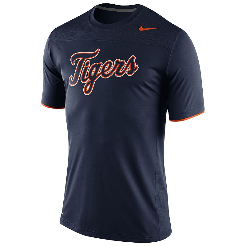 Nike Detroit Tigers Official Logo Tee - Men