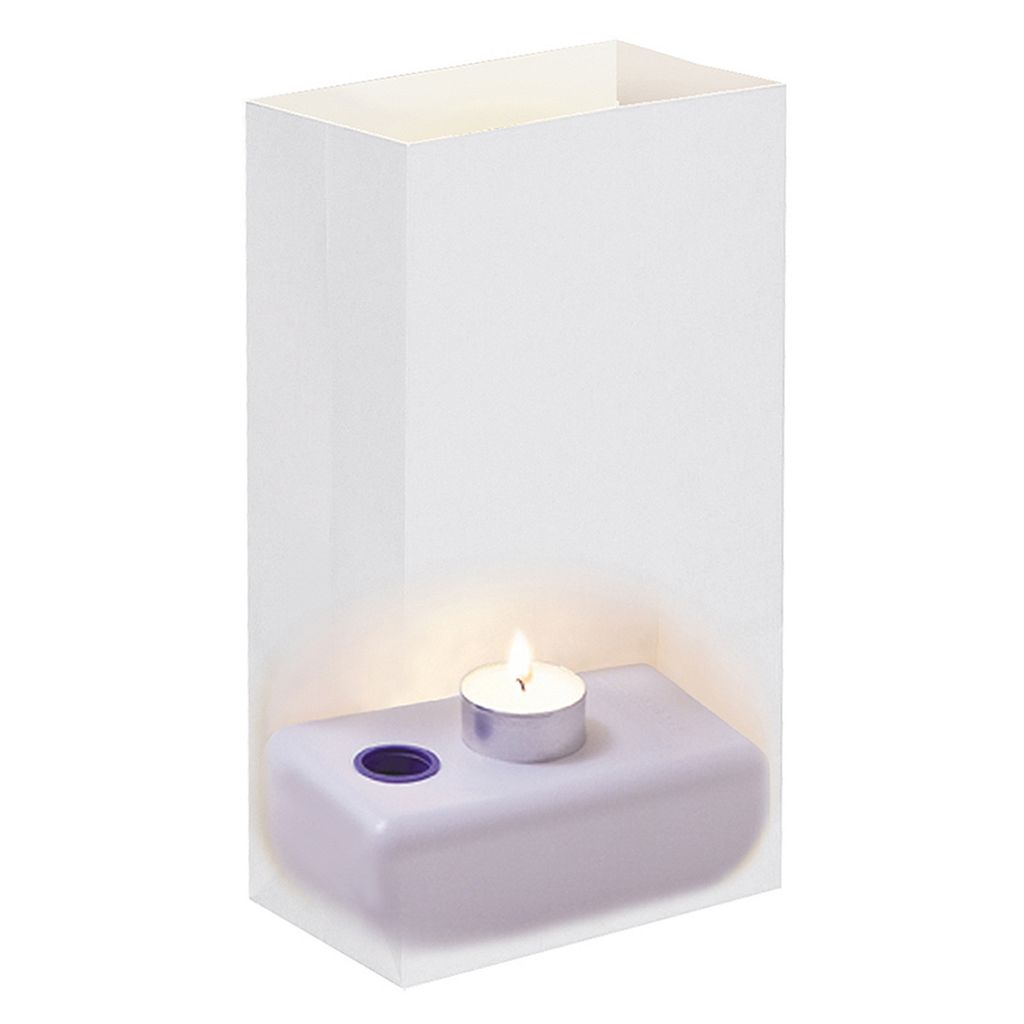 LumaBase 24-pc. Water-Filled Luminaria Candleholder Set
