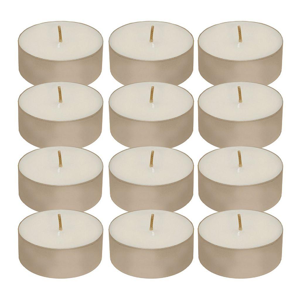 LumaBase 12-pc. Mega Tealight Candle Set