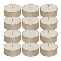 LumaBase 12 pc Mega Tealight Candle Set