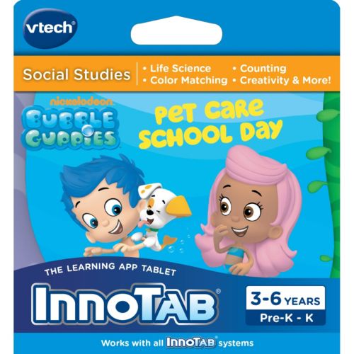 InnoTab Bubble Guppies Social Studies Game by VTech