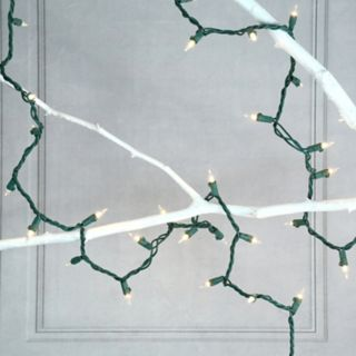 LumaBase 2-pk. Mini Clear String Christmas Lights - Indoor and Outdoor