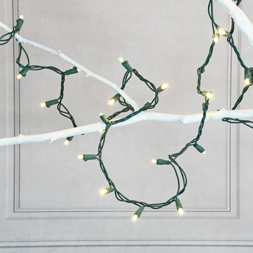 LumaBase LED Warm White String Christmas Lights - Indoor & Outdoor