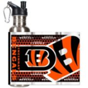 Cincinnati Bengals Stainless Steel Water Bottle With Wrap