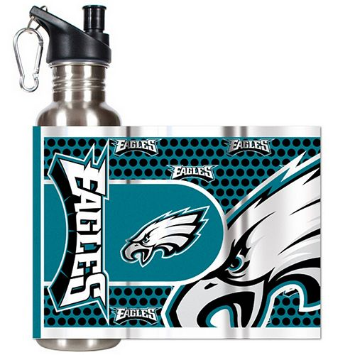 Philadelphia Eagles Stainless Steel Water Bottle With Wrap
