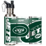 New York Jets Stainless Steel Water Bottle With Wrap