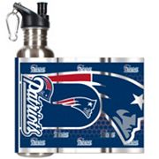New England Patriots Stainless Steel Water Bottle With Wrap