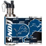 Detroit Lions Stainless Steel Water Bottle With Wrap