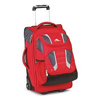 High Sierra 22-Inch Drop-Bottom Rolling Duffel Bag