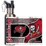Tampa Bay Buccaneers Stainless Steel Water Bottle With Wrap