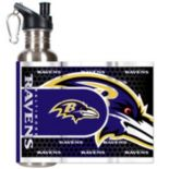 Baltimore Ravens Stainless Steel Water Bottle With Wrap