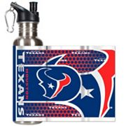 Houston Texans Stainless Steel Water Bottle With Wrap