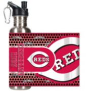 Cincinnati Reds Stainless Steel Water Bottle With Wrap