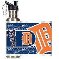 Detroit Tigers Stainless Steel Water Bottle With Wrap