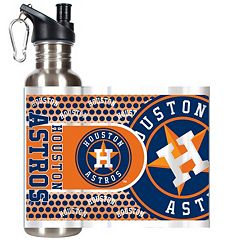 Houston Astros Stainless Steel Water Bottle With Wrap