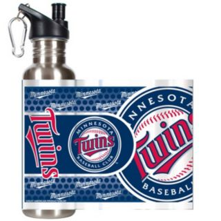 Minnesota Twins Stainless Steel Water Bottle With Wrap