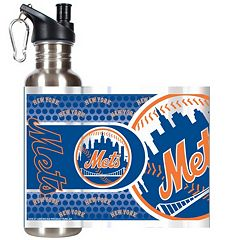 New York Mets Stainless Steel Water Bottle With Wrap