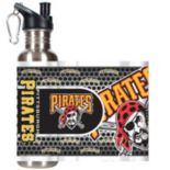 Pittsburgh Pirates Stainless Steel Water Bottle With Wrap