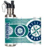 Seattle Mariners Stainless Steel Water Bottle With Wrap