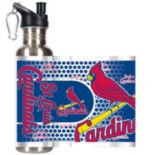 St. Louis Cardinals Stainless Steel Water Bottle With Wrap