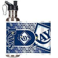 Tampa Bay Rays Stainless Steel Water Bottle With Wrap