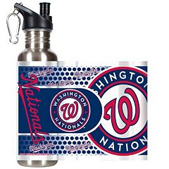Washington Nationals Stainless Steel Water Bottle With Wrap