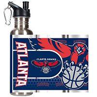 Atlanta Hawks Stainless Steel Water Bottle With Wrap