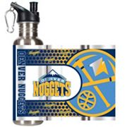 Denver Nuggets Stainless Steel Water Bottle With Wrap