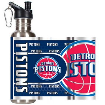 Detroit Pistons Stainless Steel Water Bottle With Wrap