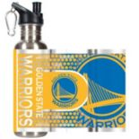 Golden State Warriors Stainless Steel Water Bottle With Wrap